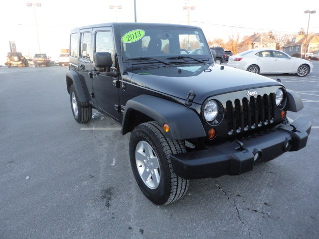 Jeep Certified Pre Owned >> Certified Pre-Owned 2013 Jeep Wrangler Unlimited Sport